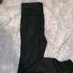 Lucky brand black skinny jeans